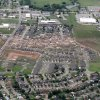 The path of the May 20th tornado can be seen near the area where it ended east of I-35 in Moore, OK, Tuesday, May 21, 2013, By Paul Hellstern, The Oklahoman