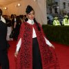 """Janelle Monae attends The Metropolitan Museum of Art\'s Costume Institute benefit gala celebrating """"Charles James: Beyond Fashion"""" on Monday, May 5, 2014, in New York. (Photo by Evan Agostini/Invision/AP)"""