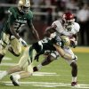 Oklahoma\'s Kameel Jackson (18) runs during the college football game between the University of Oklahoma Sooners (OU) and the Baylor Bears (BU) at Floyd Casey Stadium on Saturday, Nov. 19, 2011, in Waco, Texas. Photo by Steve Sisney, The Oklahoman ORG XMIT: KOD