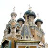 The historic Russian Cathedral in Nice, built during the reign of Tsar Nicolas II, is celebrating its 100th anniversary. (photo by Michaelanne Jerome)
