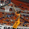 Oklahoma State\'s Markel Brown dunks the college basketball game between Oklahoma State University and Ottawa (Kan.) at Gallagher-Iba Arena in Stillwater, Okla., Thursday, Nov. 1, 2012. Photo by Sarah Phipps, The Oklahoman (AP Photo/The Oklahoman, Sarah Phipps)