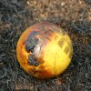 Community Photo By: Mike Howard Submitted By: Mike, OKC The partially charred remains of a child\'s ball after the fire in SE OKC.