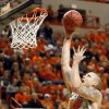 Oklahoma State\'s Philip Jurick (44) shoots against Gonzaga\'s Kelly Olynyk (13) during a men\'s college basketball game between Oklahoma State University (OSU) and Gonzaga at Gallagher-Iba Arena in Stillwater, Okla., Monday, Dec. 31, 2012. Photo by Nate Billings, The Oklahoman