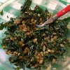 Photo - Kale salad is in season as winter winds down and spring begins.  Photo By Sherrel Jones, The Oklahoman  Sherrel Jones - THE OKLAHOMAN