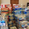 Supplies for people near the Luther wildfire. Photo by Jim Beckel.