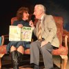 Jane Hall as Carol Reynolds and Paul Smith as Ralph Bellini in Carpenter Square Theatre\'s production of