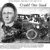"Photo -  On March 18, 1926 Oklahoma County Sheriff's deputy Howard O. ""Pete"" Brewer was killed riding a motorcycle on patrol. Here is an article that appeared in The Daily Oklahoman  <strong> OKLAHOMAN ARCHIVES  -  The Daily Oklahoman archives </strong>"