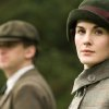 FILE - In this file photo released by PBS, Dan Stevens as Matthew Crawley, left, and Michelle Dockery as Lady Mary are shown in a scene from the second season on