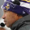 Photo - Minnesota Vikings head coach Leslie Frazier watches action in the first half of an NFL football game against the Baltimore Ravens, Sunday, Dec. 8, 2013, in Baltimore. (AP Photo/Gail Burton)