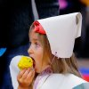 Midwest City kindergarten students learn about...