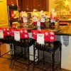 Santas were everywhere in the Love home....event in the kitchen. (Photo by Helen Ford Wallace).