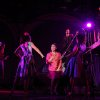 Photo - This undated theater image released by The Public Theater shows Ruthie Ann Miles, center, during a performance of