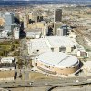 OKLAHOMA CITY / SKYLINE / AERIAL VIEW: Downtown Oklahoma City is shown in this aerial photograph taken Monday, 03/07/2005. The Ford Center is in the front, the Cox Convention Center is the large rectangluar building next to the Ford Center. Staff photo by Bill Waugh.