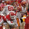 Oklahoma\'s Javon Harris (30) hurries a pass by Iowa State\'s Jared Barnett (16)during the second half of a college football game in which the University of Oklahoma Sooners (OU) defeated the Iowa State University Cyclones (ISU) 26-6 at Gaylord Family-Oklahoma Memorial Stadium in Norman, Okla., Saturday, Nov. 26, 2011. Photo by Steve Sinsey, The Oklahoman