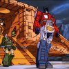 "Photo - Optimus Prime was the valiant leader of the Autobots in the 1980s ""Transformers"" cartoon series."