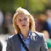 In this publicity photo released by Showtime, actress, Claire Danes, as Carrie Mathison is shown in Episode 10, of