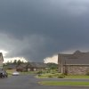 A funnel cloud approaches Tuscaloosa, Ala. where reported wide spread damage has occurred from the storm in this photo taken looking north from Taylorsville, Ala. Wednesday April 27, 2011. (AP Photo/The Birmingham News, Don Kausler, Jr.)
