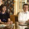 Photo - This image released by Showtime shows Lizzy Caplan as Virginia Johnson, left, and Michael Sheen as Dr. William Masters in