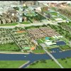 An early concept for development of Core to Shore is shown in this 2008 artist's rendering. Provided by the Greater Oklahoma City Chamber
