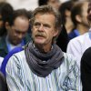 Actor William H. Macy attends an NBA basketball game between the Oklahoma City Thunder and the San Antonio Spurs at Chesapeake Energy Arena in Oklahoma City, Thursday, April 4, 2013. Photo by Nate Billings, The Oklahoman