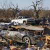 A view of damage at the Bar K Mobile Home Park in Lone Grove, Okla., Wednesday, February 11, 2009. On Tuesday, February 10, 2009, a tornado moved through Lone Grove killing at least eight people. BY NATE BILLINGS, THE OKLAHOMAN
