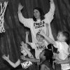 Basketball players at the YMCA go for the rebound Saturday. Community Photo By: Jenna McIntosh Submitted By: Jenna,