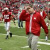 Nebraska coach Bill Callahan walks off the field after their loss in the college football game between Oklahoma State University (OSU) and the University of Nebraska at Memorial Stadium in Lincoln, Neb., on Saturday, Oct. 13, 2007. By Bryan Terry, The Oklahoman