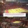 Artists rendering of the proposed upgraded to OU\'s Gaylord Family-Memorial Stadium. PHOTO PROVIDED