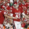 Patrick O\'Hara, right, is the favorite to be OU\'s starting kicker in 2010. PHOTO BY BRYAN TERRY, THE OKLAHOMAN ARCHIVE