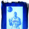 Thunder guard Derek Fisher has not played a full season since 2010. Photo by Chris Landsberger/Cyanotype print by Nate Billings, The Oklahoman