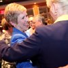 Janet Barresi greets supporters during a watch party for her Superintendent of Public Education campaign at the Tasting Room in Oklahoma City, Oklahoma on Tuesday, July 27, 2010. Photo by John Clanton, The Oklahoman