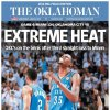The Oklahoman, June 20, 2012, after the Thunder\'s 104-98 Game 4 loss to the Miami Heat in the NBA Finals.