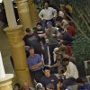 Customers wait in line outside the Apple Store for the doors to open during the opening day release of the Apple iPhone 3G in Penn Square Mall on Friday July 11, 2008, in Oklahoma City, Okla. Staff Photo By CHRIS LANDSBERGER