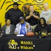 Madill\'s Darryl Fields signed a letter of intent to play at Southern Methodist on Wednesday, Feb. 3. PHOTO PROVIDED