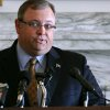 Sen. Glenn Coffee speaks during a press conference at the state Capitol in Oklahoma City on Tuesday, June 15, 2010. Photo by John Clanton, The Oklahoman