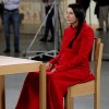 In this 2010 photo released by Rio Film Festival, performance artist Marina Abramovic sits during the making of documentary film