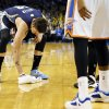 Memphis\' Mike Miller (13) wipes the floor during a break in the action in an NBA basketball game between the Oklahoma City Thunder and the Memphis Grizzlies at Chesapeake Energy Arena in Oklahoma City, Monday, Feb. 3, 2014. Oklahoma City won, 86-77. Photo by Nate Billings, The Oklahoman