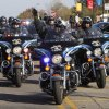 The Oklahoma County Sheriff\'s Dept. ride in formation during the University of Central Oklahoma\'s homecoming parade in Edmond, OK, Saturday, November 3, 2012, By Paul Hellstern, The Oklahoman