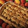 FOOD: A peach cobbler made from locally grown Oklahoma peaches. Photo by K.T. KING, The Oklahoman