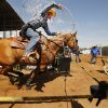 Case Jones, Gatesville, Texas, competes in the calf roping on day 4 of the International Finals Youth Rodeo IFYR on Wednesday, July 10, 2013 in Shawnee, Okla. Photo by Steve Sisney, The Oklahoman