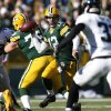 Photo -   Green Bay Packers quarterback Aaron Rodgers (12) makes a pass against the Jacksonville Jaguars during the second half of an NFL football game, Sunday, Oct. 28, 2012, in Green Bay, Wis. (AP Photo/Tom Lynn)