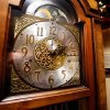 The hands on the grandfather clock standing in a corner of the formal living room of the Reneau home are frozen at 2:15, when homeowner Mary Reneau said an earthquake shook her house hard enough to cause the clock to stop working in the early morning hours of Saturday, Nov. 5. , 2011. Mary and her husband, Joseph were awakened around 2:15 a.m. when their house shook and items began falling off the walls and form shelves and cabinets inside their two-story brick ranch-style home in rural Lincoln County, about six miles northwest of Prague. Austin Holland, a seismologist with the Oklahoma Geological Survey, placed the quake\'s epicenter within two to three miles of the Reneau home. The Reneaus have lived in their house for 25 years. Photo by Jim Beckel, The Oklahoman ORG XMIT: KOD