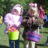 Cassie Williams, 5 and Eden Dickerson, 4 show off their Easter baskets at the Cathedral of the Hill Easter Egg Hunt at Hafer Park in Edmond. Community Photo By: Lisa Dickerson Submitted By: Lisa, Edmond