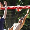 University of Oklahoma sophomore Peter Fitzgibbons from Plano, Texas, and other students play volleyball on campus on Friday, May 7, 2010, in Norman, Okla. Photo by Steve Sisney, The Oklahoman