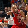 Oklahoma City\'s Nick Collison (4) defends against Chicago\'s Taj Gibson (22) during the NBA game between the Oklahoma City Thunder and the Chicago Bulls at Chesapeake Energy Arena in Oklahoma City, Sunday, Feb. 24, 2013. Photo by Sarah Phipps, The Oklahoman