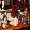 CELEBRATING THE BOOK...Holiday decorations in the home of Cindy Hazelwood (Photo by Helen Ford Wallace).