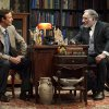 This 2012 theater image released by Jim Randolph Media Relations shows Tom Cavanagh as C. S. Lewis, left, and Judd Hirsch as Sigmund Freud in Mark St. Germain\'s