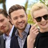 Photo - From left, actors Garrett Hedlund, Justin Timberlake, Carey Mulligan and Oscar Isaac pose for photographers during a photo call for the film Inside Llewyn Davis at the 66th international film festival, in Cannes, southern France, Sunday, May 19, 2013. (Photo by Joel Ryan/Invision/AP)