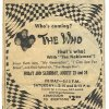 This ad for The Who\'s performances at Oklahoma City\'s old Wedgewood Amusement Park ran in the Aug. 23, 1968 editions of The Oklahoman.
