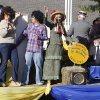UCO alumni ride on a float during the University of Central Oklahoma\'s homecoming parade in Edmond, OK, Saturday, November 3, 2012, By Paul Hellstern, The Oklahoman